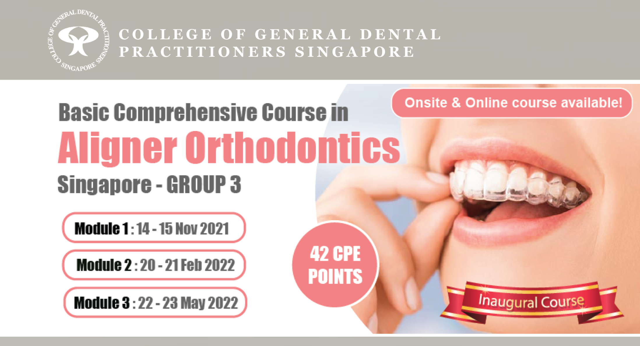 Basic Comprehensive Course in Aligner Orthodontics (Group 3)